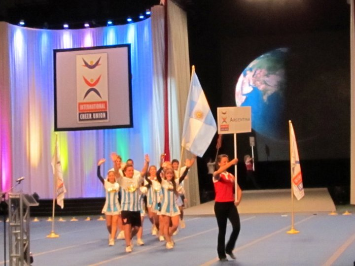Ceremonia de Inauguración World Cheerleading Championship
