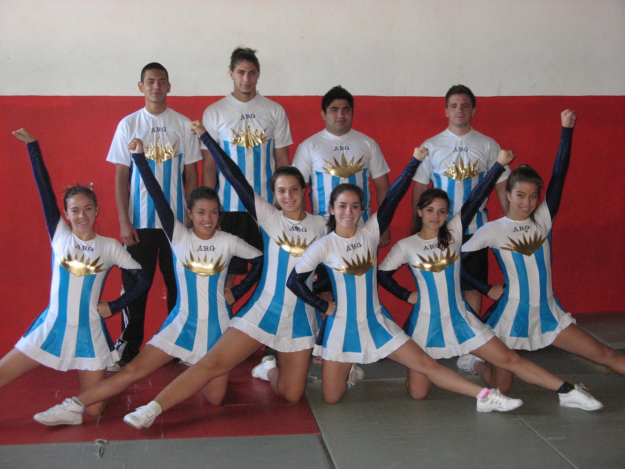 Argentina tendrá representantes en el mundial de cheerleaders 2011