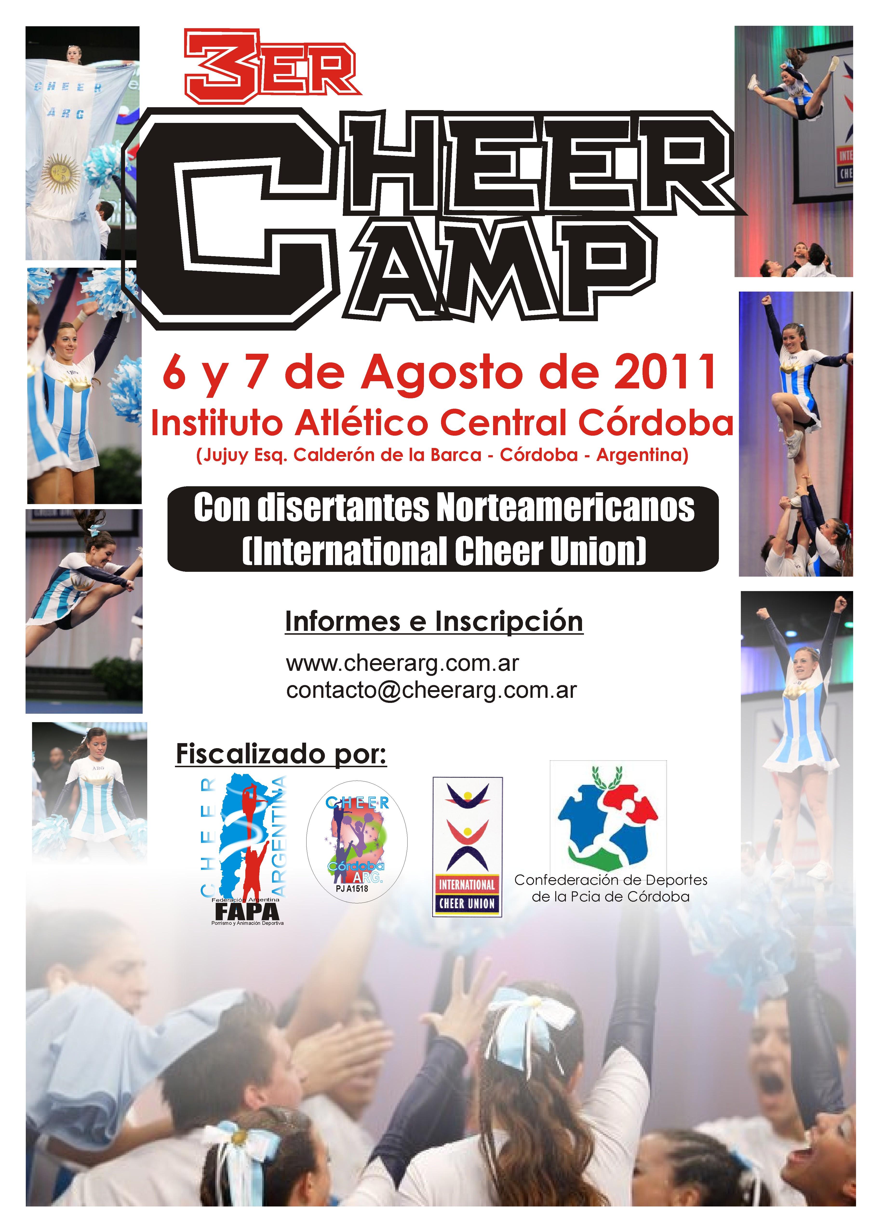 3er. CheerCamp Argentino