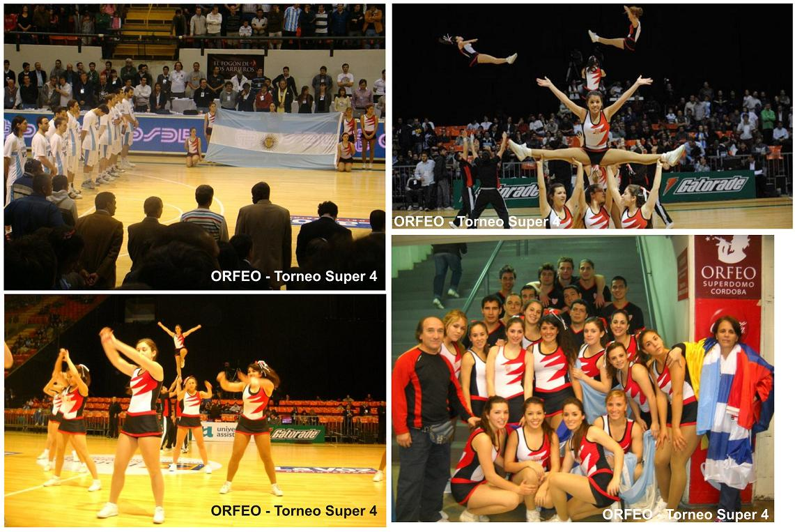 Cheerleading con la Generación DORADA