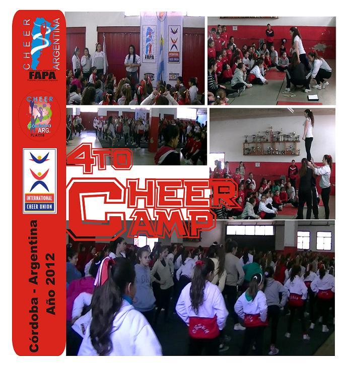 Multitudinario y exitoso CheerCamp Nacional
