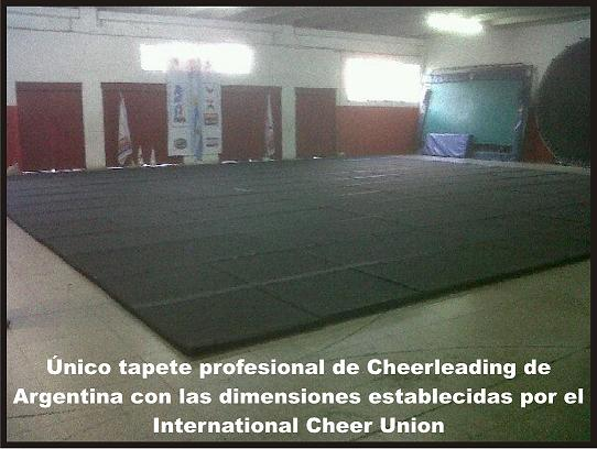 Nuestro Tapete de Cheerleading